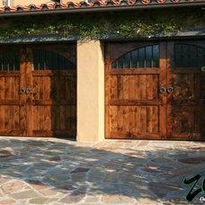 Mediterranean Garage Doors And Openers by Ziegler Doors Inc.