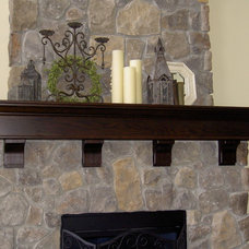 Indoor Fireplaces by CR Wood Furnishings