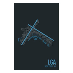 08 Left - 008 Left LGA - New York City Metal Print - As good as it gets. Ready to hang. Absolutely stunning and tough as rocks.