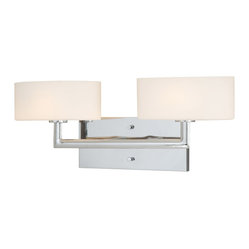 Allerton Chrome 2 Light Vanity