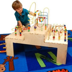Anatex Step Up Rollercoaster Table - About ANATEX:Established in 1982, Anatex was the first company to distribute Rollercoaster wire-bead mazes in the US, earning them a plethora of toy-distributer awards. Over the years, Anatex has expanded to produce a wide variety of creative activity centers, furnishing homes, schools and waiting rooms nationwide. Anatex has become the leader in creating and manufacturing top-quality waiting room toys and strives to give their customers the highest-quality goods and service.