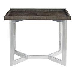 Bernhardt Interiors - Bernhardt Interiors Stratton Metal End Table 336-126/336-126T - Bernhardt Interiors Stratton Metal End Table 336-126/336-126T.