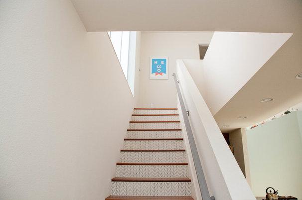 Contemporary Staircase by Sarah Natsumi Moore
