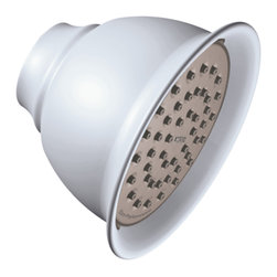 """Moen - Moen 6302EPPM Moen Single-Function 4-3/8"""" Diameter Showerhead - From finishes that are guaranteed to last a lifetime, to faucets that balance your water pressure perfectly, the Moen series sets the standard for exceptional beauty and reliable, innovative design."""