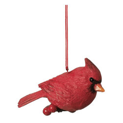 Midwest CBK - Red Cardinal Christmas Tree Ornament - Nature Bird Spring Novelty Holiday Gift - Red Cardinal Christmas Ornament