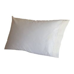 Sweet Dreams White & Cream Pillowcase