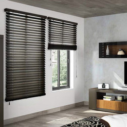"""Blinds.com Wood Blinds - Architectural 2"""" Wood Blind. Whites and off-whites,Neut - Architectural 2"""" Wood Blind - Buy with Confidence, Get Free Samples Today!Browse 2"""" Architectural Wood Blinds from Blinds.com to find the ideal, unique, designer-quality blinds  for your interior. Choose from over 100 furniture-grade painted and stained finishes, that include elegant wood grains, multi-color hand-finishes, antique surfaces, washes that add depth, vintage styles and sleek, painted colors the reflect trends found in rooms from rustic to modern. These blinds are made from lightweight African Abachi Wood, which is harvested from sustainable forests, and are perfect for rooms that need light control."""