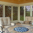 Flanigan Pattern - window inserts for privacy and screen privacy
