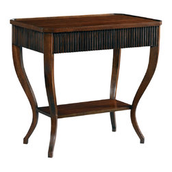 Hickory White - Hickory White Night Stand 305-72 - Perillo solids with cherry veneers hand planed top, light distressing.