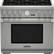 contemporary gas ranges and electric ranges by Thermador