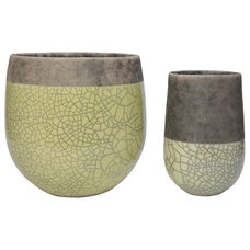 asian vases by JANUS et Cie