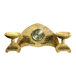 Ucra - Consigned Antique French Art Deco Mantel Clock - Product Details