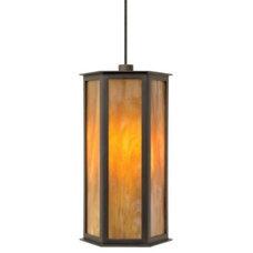 Pendant Lighting Mission Oak Pendant by Wilmette Lighting