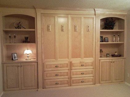 Modern Murphy Beds by F&C Custom Cabinets Inc