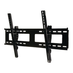 "Peerless - Universal 32"" - 56"" Outdoor Tilt Wall Mount - Fits 32"" - 56"" TVs. Holds up to 175lbs. +15 degree /-5 degree  tilt with 5 degree  lock increments. 8"" horizontal screen adjustment. Hook-&-hang design attaches enclosure to mount & holds weight load while fine-tuning adjustments. For indoor/outdoor use where corrosion protection is needed. VESA 600 x 400 compliantPeerless' Outdoor Universal Wall Mount provides a sure way to mount flat panels outdoors with its corrosion resistant E-Coat and stainless steel hardware that is resistant to corrosion when exposed to the elements. In addition to simple installation with its hook-and-hang design, this mount offers tilt functionality while keeping the flat panel screen a mere 2.58"" from the wall. Tamper-resistant hardware deters theft, offering a peace-of-mind with every installation. For additional security, lock down channels in the brackets are included for optional padlock attachment to wall plate."