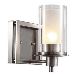 Trans Globe Lighting - Trans Globe Lighting 20041 Wall Sconce In Brushed Nickel - Part Number: 20041