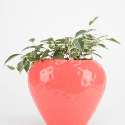 Plum & Bow Strawberry Planter - This planter is so fun and whimsical — definitely an instant conversation piece!