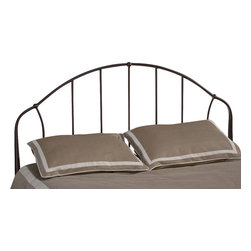 Hillsdale Furniture - Hillsdale Marston Headboard  in Bronze - Twin|Yes - Simple form and function mark Hillsdale's easygoing Marston Bed. Constructed of durable metal with a bronze finish, the Marston is an ideal complement to even the most eclectic of styles.