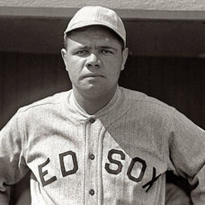 Babe Ruth Boston Red Sox Image 8 1/2 x 11 by BigPhilsEmporium