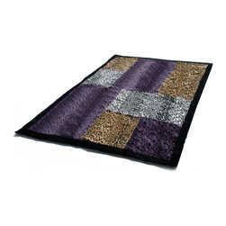 """Blancho Bedding - Onitiva - Precious Heartbeat Patchwork Throw Blanket  61""""-86.6"""" - This animal skin patchwork throw blanket measures 61 by 86.6 inches. Comfort, warmth and stylish designs."""
