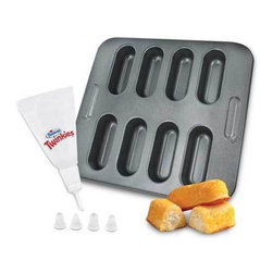 Smart Planet - Hostess Bake Set - Make your favorite treat right at home with the Twinkies Bake Pan! Use your favorite recipe from the recipe booklet included or create your own for fun. Non-stick surface for easy clean-up.