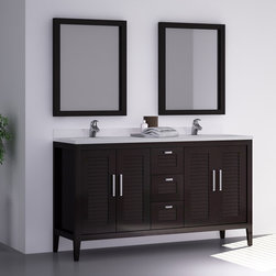 MADRID II 60 INCH BATH VANITY. ESPRESSO - Will be available in stock as of august 31