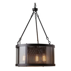 Murray Feiss - Murray Feiss F2929/3ORB Bluffton 3 Bulb Oil Rubbed Bronze Chandelier - Murray Feiss F2929/3ORB Bluffton 3 Bulb Oil Rubbed Bronze Chandelier