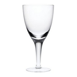 Denby China by Denby Red Wine Glass - Set of 4 - Simplify your life with the Denby China by Denby Red Wine Glass- Set of 4. These dishwasher- and microwave-safe glasses are perfect for a glass of wine at the end of a long workday. They feature a contemporary design in crystal clear glass for a look that is modern and stylish without being flashy. So sit back and enjoy a glass of your favorite vintage.About DenbyDenby has its roots in England, where skilled craftsman have been making pottery using traditional methods for over 200 years. Though the time and styles have changed, Denby has kept pace, and today continues to make high-quality, beautiful, and timeless dinnerware. From its humble roots, Denby has spread all over the world, and is a top choice for brides and families looking to spruce up their dining sets. Even better, all of Denby's products are made for the modern kitchen, and are dishwasher-, oven-, microwave-, and freezer-safe.