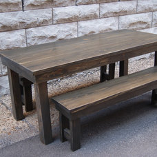 Farmhouse Dining Tables by Furniture Farm by JND LLC