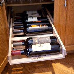 Wine Logic   l  Wine Storage Solutions - Wine Logic wine racks approach home wine storage with thoughtful design, quality craftsmanship and a connoisseurs insight. The result is a high-end wine storage solution that easily resolves the challenges of space, clutter, cost and more.