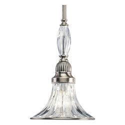 Progress Lighting - Progress Lighting P5100-101 Roxbury 1 Light Mini Pendants in Classic Silver - One-light mini-pendant with clear crystal