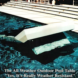 2000 Series Outdoor Pool Table - All Aluminum Construction - Weatherproof Pool table by Century Billiards of New York