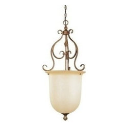 Livex Lighting - Livex Bistro Foyer Venetian Patina -8296-57 - Livex products are highly detailed and meticulously finished by some of the best craftsmen in the business