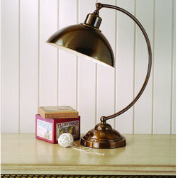 """Laura Ashley - Laura Ashley TX0012 22"""" Hackett Complete Task Lamp - 22"""" Hackett Complete Task LampLaura Ashley Home Lighting brings the distinctive style of Laura Ashley into your home with an impressive selection of lighting. Each piece embodies the English influence of Laura Ashley while bringing classical elegance to modern design."""