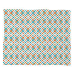 DENY Designs - Tammie Bennett X Check Fleece Throw Blanket - This DENY fleece throw blanket may be the softest blanket ever! And we're not being overly dramatic here. In addition to being incredibly snuggly with it's plush fleece material, it's maching washable with no image fading. Plus, it comes in three different sizes: 80x60 (big enough for two), 60x50 (the fan favorite) and the 40x30. With all of these great features, we've found the perfect fleece blanket and an original gift! Full color front with white back. Custom printed in the USA for every order.