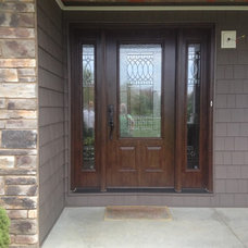 Traditional Front Doors by A. Caspersen Company Inc.