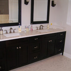 Modern Bathroom Vanities And Sink Consoles by North Country Millworks, L.L.C.