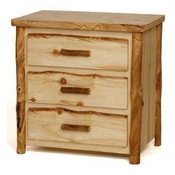 Blue Ridge 3-Drawer Dresser - Blue Ridge 3-Drawer Dresser- 120 lbs