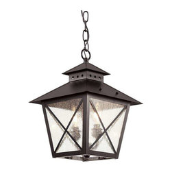Trans Globe Lighting - Trans Globe Lighting 40174 BK Outdoor Hanging Light In Black - Part Number: 40174 BK