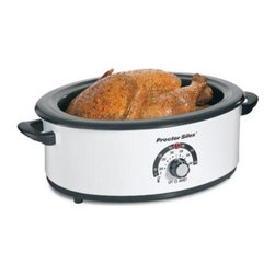 Hamilton Beach - PS 6.5Qt Roaster Oven - Increase your oven space with this Proctor-Silex Roaster Oven.  It provides fast easy roasting and bakes and serves as well.  Pan is removable.   .