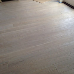 Flooring - Custom Grey WOCA OIL