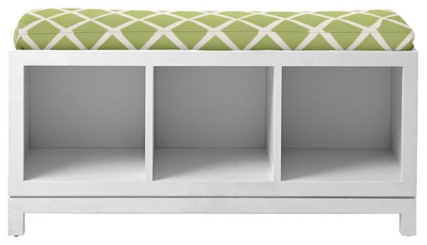 Contemporary Accent And Storage Benches by Serena & Lily