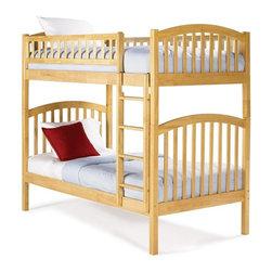 Atlantic Furniture - Richmond Bunk Bed - ATL-RICHMOND - Eight position adjustable mattress support
