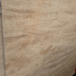 Royal Stone & Tile Slab Yard in Los Angeles - Beaumaniere French Limestone slabs at Royal Stone & Tile in Los Angeles