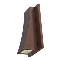 Access Lighting - Access Lighting 23062LED-BRZ/CLR Archer Bronze Outdoor Wall Sconce - Access Lighting 23062LED-BRZ/CLR Archer Bronze Outdoor Wall Sconce