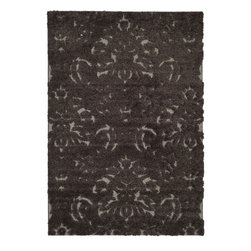 Safavieh - Safavieh Florida Modern / Contemporary Rug X-8-9782-064GS - This power-loomed Florida shag rug offers luxurious comfort and unique styling with a raised high-low pile.