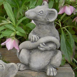Brookfield - Ratsmore the Rat Garden Statue - 118-N - Shop for Statues and Sculptures from Hayneedle.com! Ratsmore the Rat will look great in your garden and complete your statue collection. Mischievous posture adds charm Intricate detailing for added realism Cast from a rubber mold for a seamless finish Weather-resistant concrete protects the statue What We Like About Ratsmore the Rat Ratsmore the Rat has an expressive face and mischievous posture. The intricate detailing featured on this piece is a result of a unique rubber mold that puts out a seamless product. Ratsmore the Rat is also built from durable weather-resistant concrete so you'll have him around for years to come.