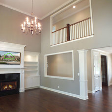 Craftsman Living Room by Otero Signature Homes