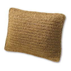 "12"" x 16"" Natural Fiber Decorative Pillow Cover - This throw pillow adds lovely natural texture to any room in your home."