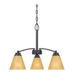 Designers Fountain - Designers Fountain 83583 Arcadia 3 Light 1 Tier Chandelier - Features: